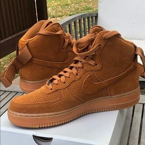 Nike Air Force 1 Wheat Color